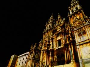 Cathedral_of_Santiago_de_Compostelain_gold_ink